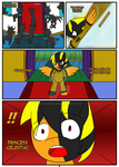 Comic Commission: Canterlot Hero :Page 2: by Otakon7