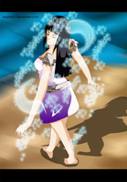 Hinata Hyuuga Power water by Sarah927