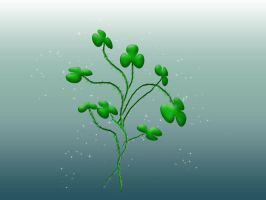 Magic Shamrocks by Resaturatez