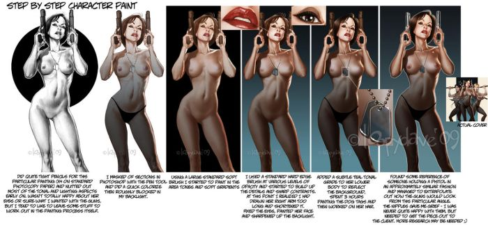 Uncensored Step by step by Loopydave