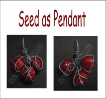 Seed as Pendant by snowny