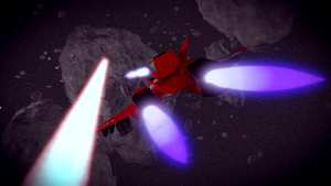 The Space Dogfight by Stealthflanker