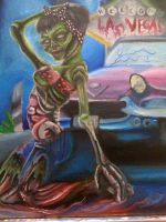 Zombie Pin up by Germantattmaker