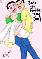 You're the Freddie to my Jim by HappyChupacabra