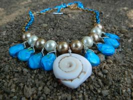Sand and Surf Necklace by DOC-Ash1391