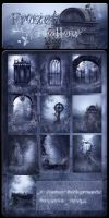 Frozen Hollow backgrounds by moonchild-ljilja