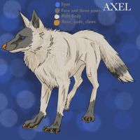 Old Axel Ref Sheet by Loxome