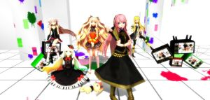 Some of my favorite vocaloids) by Anastasiya11