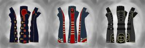 Dishonored Themed Fingerless Glove Ideas by Feivelyn