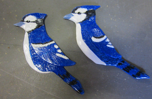 Bluejay Pins by HollieBollie