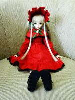 Rozen Maiden - Shinku BJD - 002 by LitaOliveira