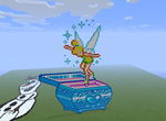 Magical Tinkerbell Music Box - Minecraft by LadyZenora