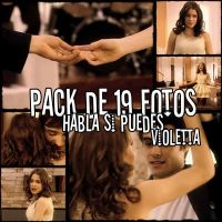 Pack  Habla  si  puedes Violetta by lalaaraujo121