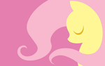 Wallpaper - Fluttershy by MegaSweet