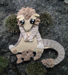 Pangolin Fridge Magnet06 by demiveemon