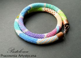 Rainbow Necklace by Pastely
