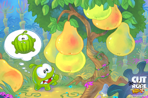 Om Nom in the Stone Age 03 by Maksim2d