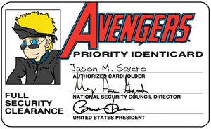 Avengers Card - Energizer