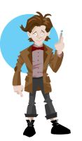 The Eleventh Doctor by memorypalace