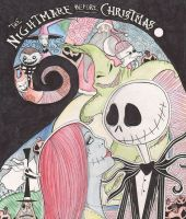 Nightmare Before Christmas by desiree-amber-moore