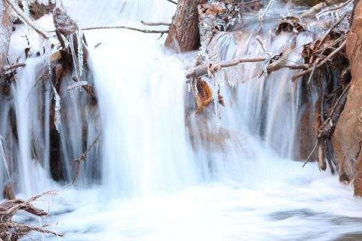 Winter Rapids by DBoydPhotography