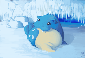 Spheal by DrManiacal