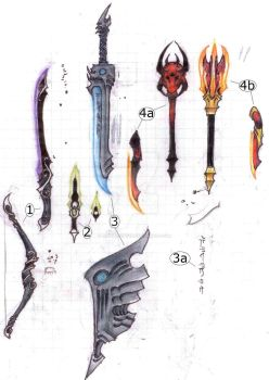 Weapon Art by Lord-Noctifer
