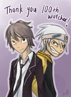 Thank you 100th Watcher! by AbnormallyNice