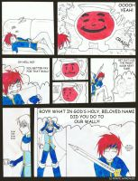Roy V.S. Koolaid Man by PencilWarrior