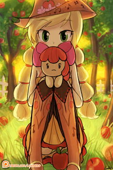 Cutie Applejack by luminaura