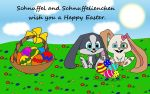Happy Easter by SchnuffelKuschel