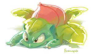 Ivysaur by Frozenspots