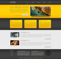 YONE wordpress template by arkgrafik