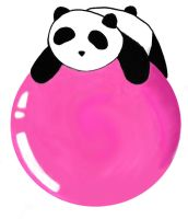 Panda by brickbat