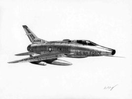 F-100 Commission 9 by Raptorguy