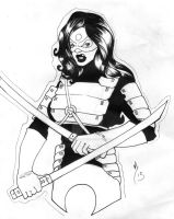 Katana Sketch complete by Chopstyck-King