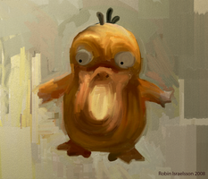 Psyduck by rubbe