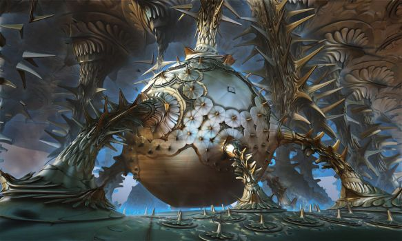 Parasite Cocoon by Aerison