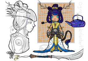 Chagama Adopt: Tielouhan Oolong [CLOSED] by ogresama