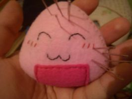 Pin Cushion Onigiri by Yuseichan
