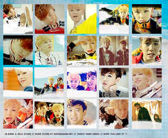 ICON SET : BANGZELO by chazzief
