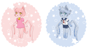 Adoptable Araneus Cats Raffle Closed by Xipako