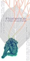 Florence + the Machine Poster by Rhainster
