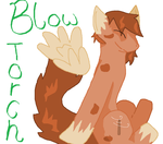 Contest Entry Blow Torch by Brighttail-Warrior