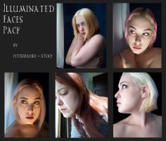 Illuminated Faces Pack by fetishfaerie-stock