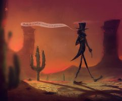 The desert troubadour by Dumaker