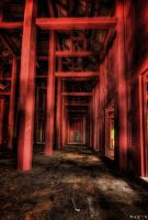 hdr - the red corridor by mayonzz