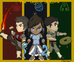 Legend of Korra Chibi Style by RyanimationArts