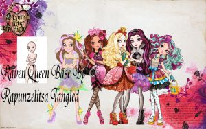 Ever After High base : Raven Queen by RapunzelitsaTangled