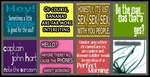 Random Torchwood Quote Icons by 3toh